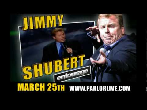 Parlor Live Comedy Club, Jimmy Shubert with Double R from The BJ Shea Morning Experience