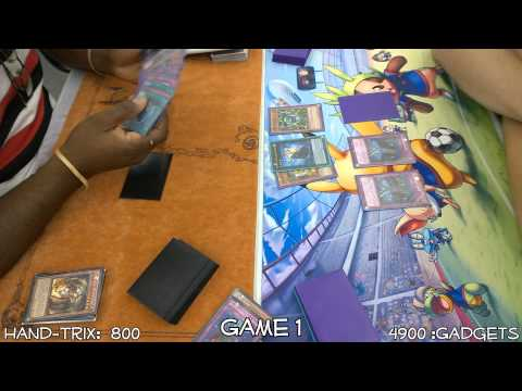 Yugioh Battle City Hand-Trix Vs Gadgets Full Match July 2014