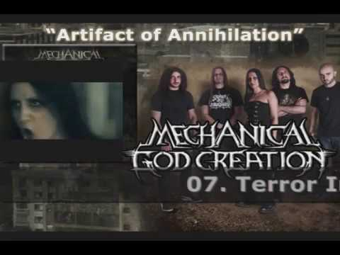 MECHANICAL GOD CREATION - Artifact Of Annihilation (2013)