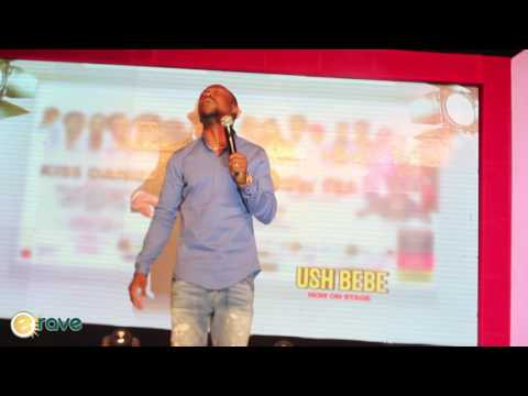Ushbebe Funny Moments at Kiss Daniel's Album Launch Concert