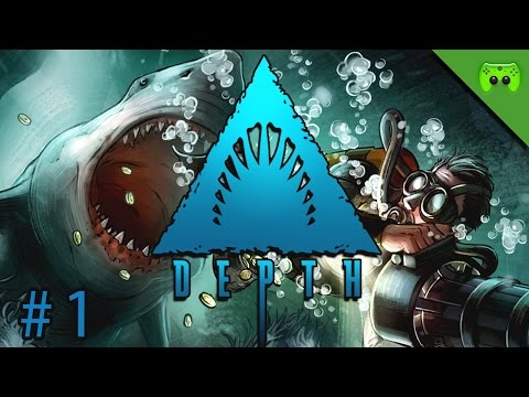 DEPTH # 1 - Gold, Blut und Zähne «» Let's Play Depth Multiplayer | Full HD