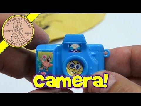 Spongebob squarepants burger king kids meal toy rubik s cube style