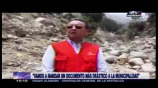 Posible omisión de funciones de autoridades en prevención de daños por huaicos – ATV +