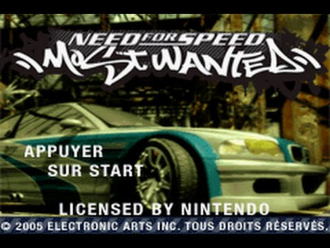 Need for Speed : Most Wanted GBA