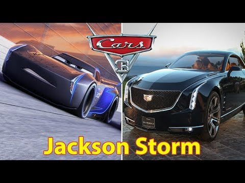 Cars 3 Characters In Real Life | All Characters 2017