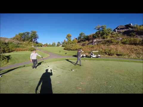 Sexy Slow Mo Golf Muskoka Bay
