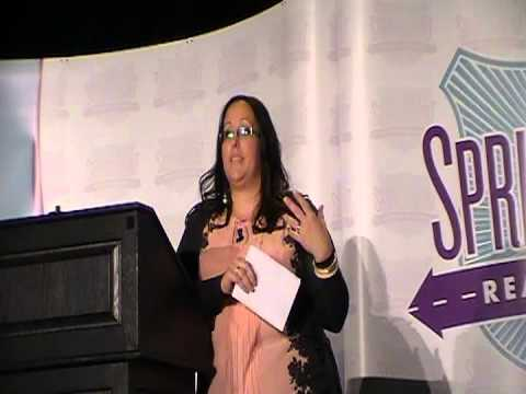 Nikki Walters speech at Spring Sprint 2013 Syracuse, NY