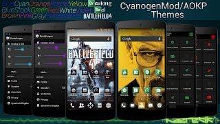 CM11/10.2 AOKP Honeycomb Theme YouTube video