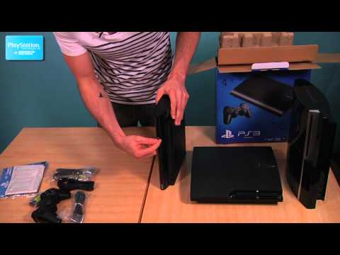 PS3 Super Slim Unboxing with Official PlayStation Magazine