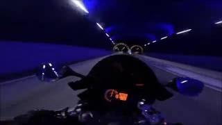 Jazda 300km/h tunelem w ruchu ulicznym