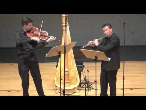 Malcolm Arnold- Duo for Flute and Viola- Liverecording