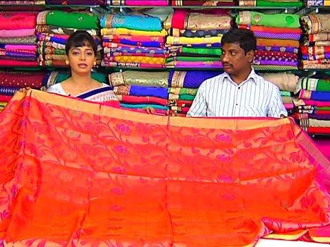 Latest Updates of Sarees  Half Sarees and Dress Materials | Sogasu Chuda Tarama | Vanitha TV 18 July 2015 02 52 PM