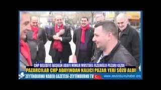 CHP Zeytinburnu Adayı Fazlıoğlu Pazarı gezdi