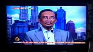 Malaysia PM dissolved 12th parliament - Anwar Ibrahim on Al-Jazeera LIVE