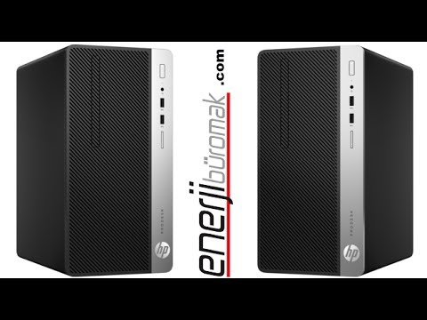 HP ProDesk 400 G4 Microtower PC Unboxing / HP ProDesk Desktop PCs unboxing 1JJ87EA