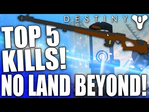 Destiny: Top 5 NO LAND BEYOND Sniping Kill Clips Of The Week / Episode 46