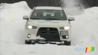 2008 Mitsubishi Lancer Evolution GSR Review By Auto123.com
