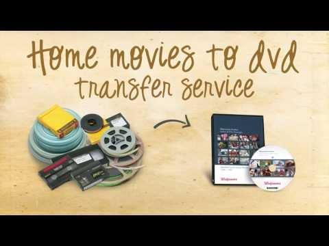 Home Movies to DVD at Walgreens