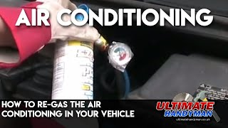 Video How to re-gas the air conditioning in your vehicle MP3, 3GP, MP4, WEBM, AVI, FLV Agustus 2018