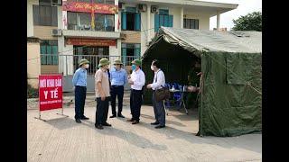 Lãnh đạo thành phố kiểm tra công tác phòng, chống dịch Covid-19 trên địa bàn