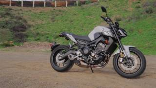 4. 2017 Yamaha FZ-09 Review | 4K