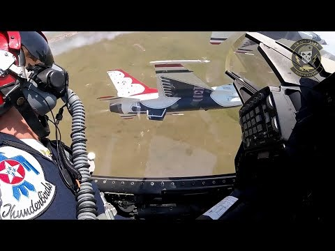 F-16 Fighter Jet Cockpit View |...