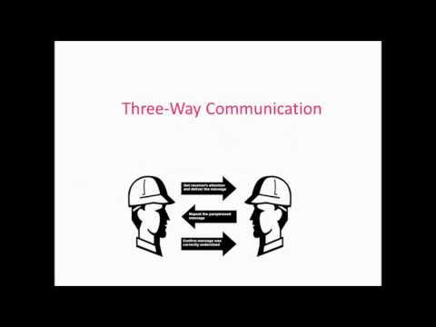 3 way Communication Process