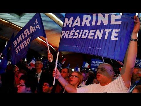 Γαλλία: Πανηγυρισμοί στο επιτελείο Λεπέν