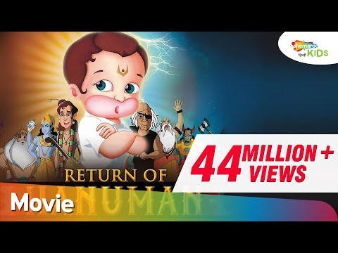 Popular Animated Movie | Return Of Hanuman (HD) OFFICIAL Full Movie | Shemaroo Kids Hindi