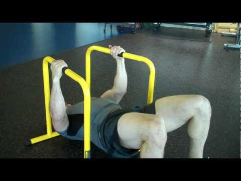 DryLand Hockey Strength Training 1- Back and Biceps