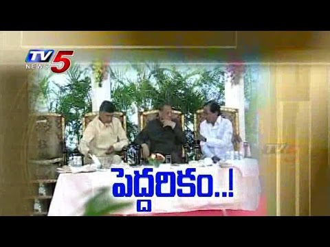 Governors Effort | Reconciliation b\w KCR & Chandrababu : TV5 News