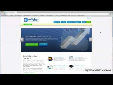 Email Marketing For Musicians: Aweber Review