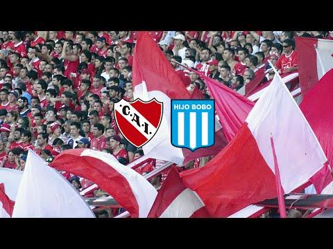 Independiente 1 - 1 Racing   la hinchada - La Barra del Rojo - Independiente