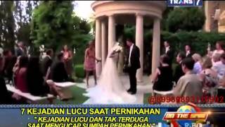 Video On The Spot - 7 Kejadian Lucu Saat Pernikahan MP3, 3GP, MP4, WEBM, AVI, FLV Oktober 2017