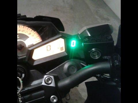 Kawasaki z300 gear indicator instalation