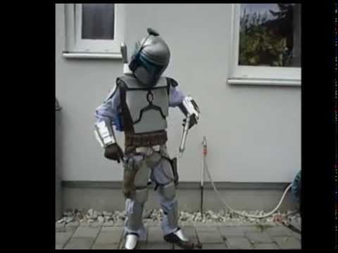 Jango Fett Kid with Jetpack Star Wars Costume