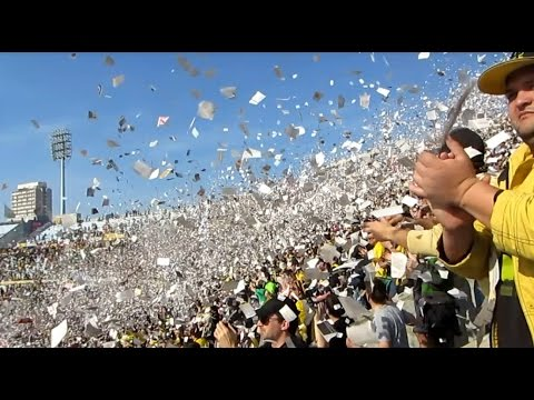 Recibimiento Peñarol vs. Cerro | Hinchada | Apertura 2014 - Barra Amsterdam - Peñarol