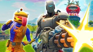 DURR BURGER BUILDS A TERMINATOR - Fortnite Short Film