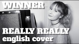 LYRICS & INFO IN THE DESCRIPTION BOX!I hope you enjoy my English cover of WINNER's Really Really! Thank you so much for watching ♡IMPA ►►Instagram http://instagram.com/reright.impaTwitter http://www.twitter.com/reright_impaInstrumentalMusic Sense https://www.youtube.com/watch?v=Y8AG261QydgKoreanpopinst https://www.youtube.com/watch?v=calvjPolbAcSongainlover https://www.youtube.com/watch?v=3f3V1yuPfM0And as usual...This is not a literal word for word translation, but an english version and adaption of the song. I always try to be as true as possible to the original lyrics.* * LYRICS * *Really, really, really, reallyReally, really, really, reallyWhere are you? Tell me nowIf you're home, please go outCome to me 'cause I wantTo tell you about the times I missed youWhere do I begin?It's so hard to get the words out of my mouthBut I'll try, hear me outThis is what I think of youIn my eyes you're perfect, you're all that I wantLove you, babyIf my love for you made me richI would be a billionaireStay here with meReally, really, really, really'Cause I like you baby, oh wahReally, really, really, reallyStay here with meReally, really, really, reallyCan you hear my heart beating loud?Really, really, really, reallyWhat do you say?Babe, you're a goal inLet's make our time a ceremonyNicknames for each other Honey might be cute, or maybe darling?You make me nervous, I'm losing controlI need a drink, pour me a lot of alcoholI might look tough but I'm shrinking in front of youCome get me, ohBecause I want youLook at me, 'cause I'm slippingYes, I'm falling in loveThe criminal who has stolen my heart (it is you)Everything you do is what a queen doMy heart's beating loud when I see youLook at you, your everything is killin'Sexy like wow, you're like flaming hot chiliDon't misunderstand, I'll convince youEverything you're wanting from meI can give youIn my eyes you're perfect, you're all that I wantLove you, babyIf my love for you made me richI would be a billionaireStay here with meRea
