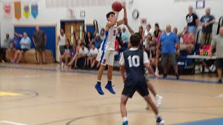 Waterford wins summer basketball league final on Buscetto's three