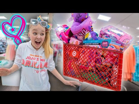 BUYING EVERY JOJO PRODUCT AT TARGET!!!