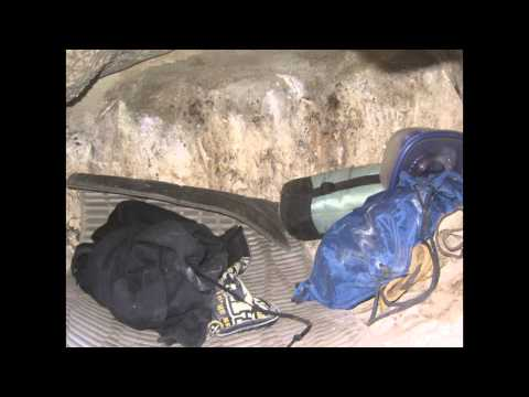 Sleeping in a Condor Cave - SANTA BARBARA ZOO