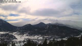 2014-02-12 - Estes Park RMNP Longs Peak Time-Lapse