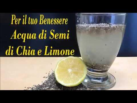 acqua di semi di chia e ananas e limone: perdi peso subito