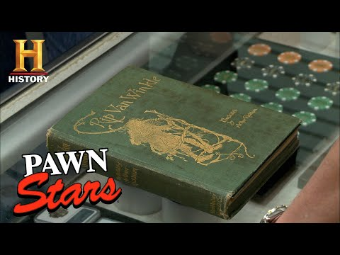 Pawn Stars: SELLER DISAPPOINTED by Vintage Book Appraisal (Season 10) | History