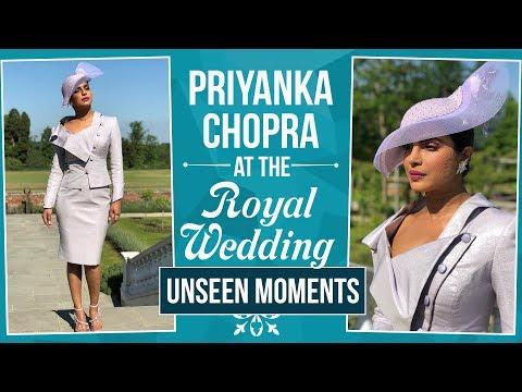 The Royal Wedding 2018: Priyanka Chopra at the Royal Wedding (unseen moments) | Pinkvilla