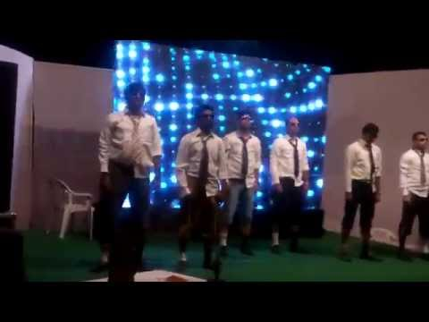 Funny dance at Zinc Colony,Udaipur New year 2015 celebration