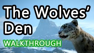 Far Cry 4 – THE WOLVES' DEN Walkthrough – Meet Kanan, Tibetan Wolf Skins & Destroy the Wolves' Den Far Cry 4 – THE WOLVES' DEN Walkthrough – Meet Kanan, Tibetan Wolf Skins & Destroy the Wolves' Den -------------------------------------------------------------- In this mission, you will:- Meet Kanan - Reach the Vantage Point- Tibetan Wolf Skins- Destroy the Wolves' Den - Return to Kanan - Complete The Wolves' Den MissionCHECK OUT THIS TRICK TO UNLOCKING WEAPONS FAST & ACCESSING MORE MAP- http://www.youtube.com/watch?v=DfOTvDnB3woMy Channel: www.youtube.com/technologytommy