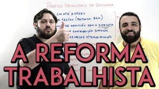 X da Atualidade 2017 - A Reforma Trabalhista