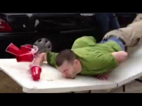 Beer Pong Dunk Fail